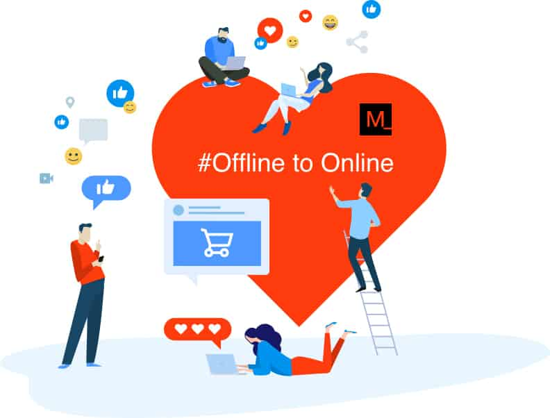 Full Services from offline to online